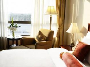享五星同里湖大酒店高级园景房图片