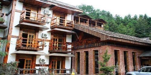 贵州木材别墅图片