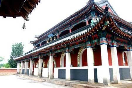 中国内蒙赤峰4A级景区喀喇沁亲王府