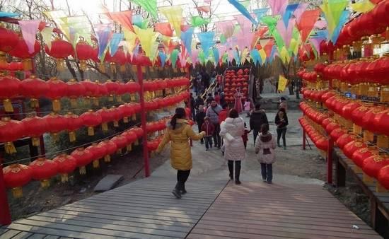 广州市儿童公园 春节