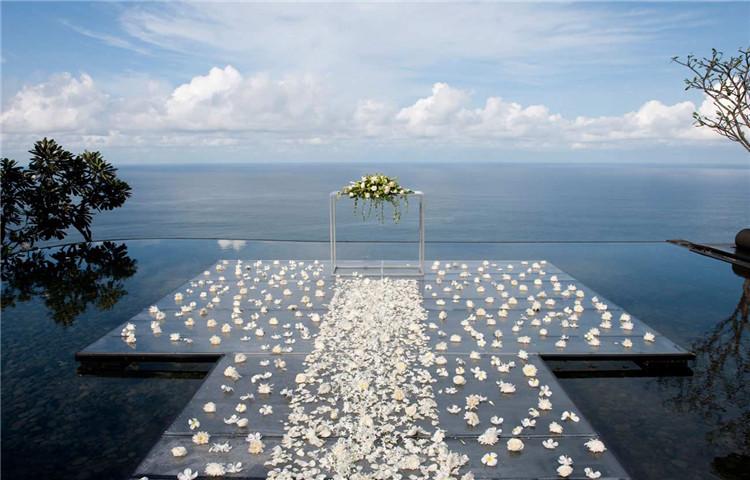 巴厘岛蓝点教堂婚礼bluepointchapel玻璃教堂婚礼  bluepointbay