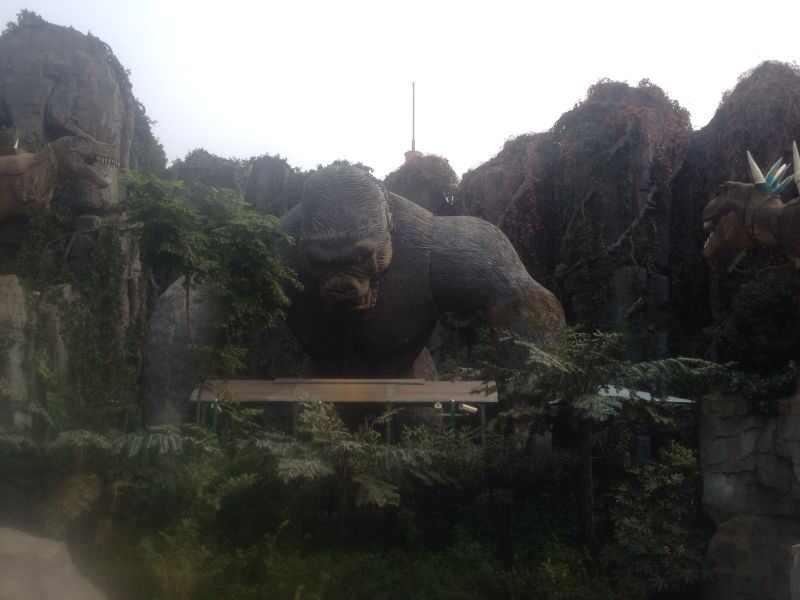 常州中华恐龙园常州中华恐龙园还好吧,项目不多 都是鬼屋 表 驴妈妈