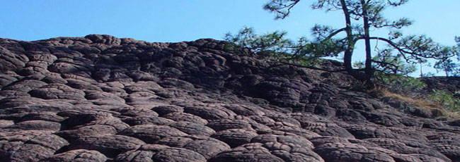 千龟山龟裂纹岩的形成 - 探矿者           - .