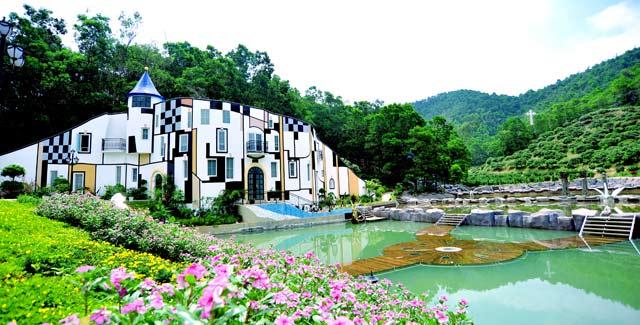 东莞龙凤山庄影视度假村游玩卡成人票 当天预定1小时后方可取票
