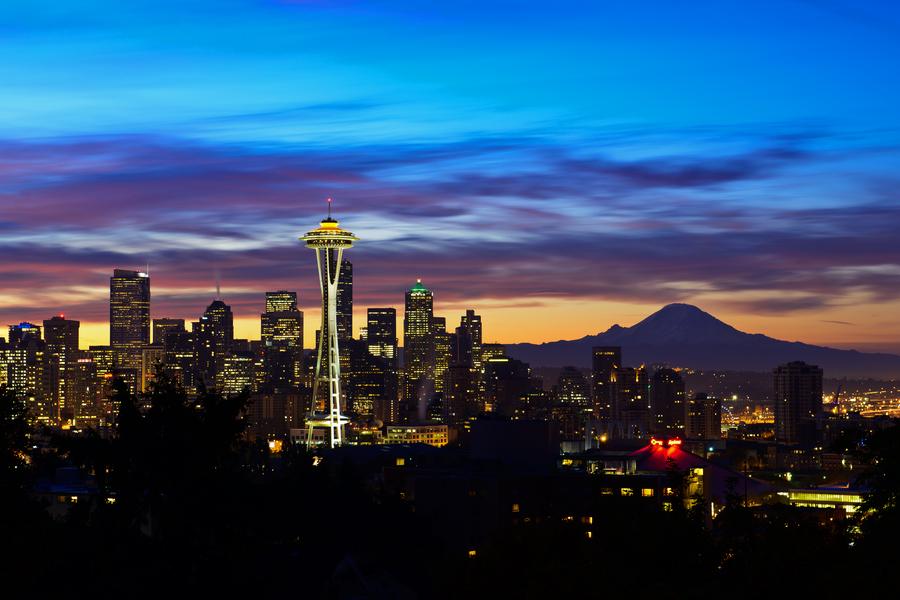 【浪漫之旅】美国西雅图波特兰5晚7日游(一价全含 太空针塔 波音工厂)