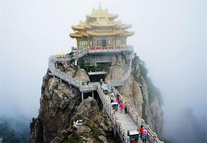 河南景点门票 老君山 河南省老君山生态旅游开发位于洛阳图片