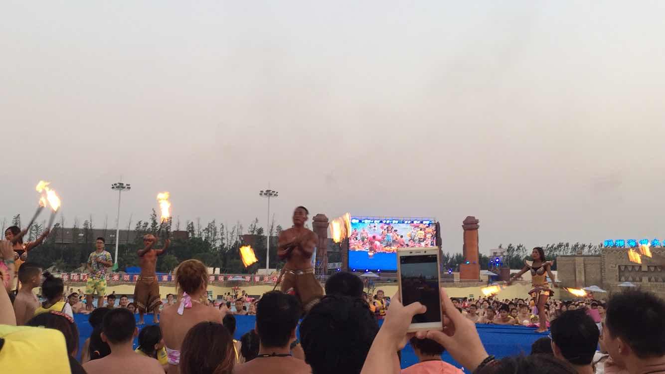 上海玛雅海滩水公园   夜场成人票图片