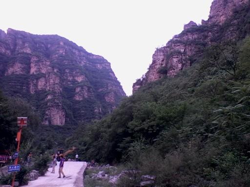北京房山十渡风景区七渡孤山寨