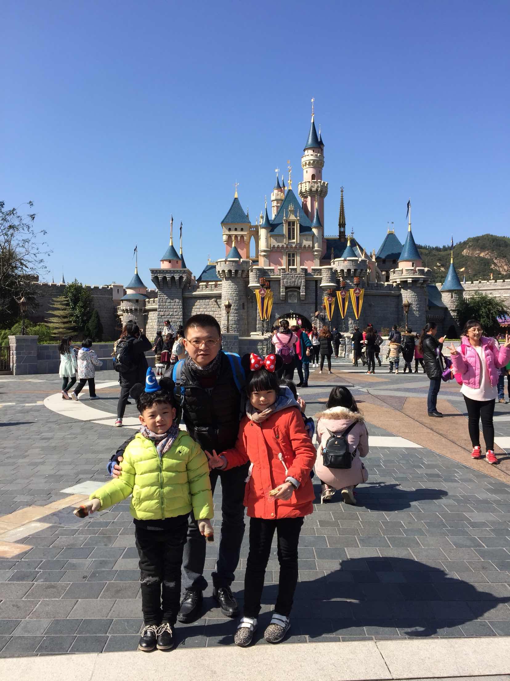 香港迪士尼乐园 1日儿童门票(3至11周岁)【电子票2016