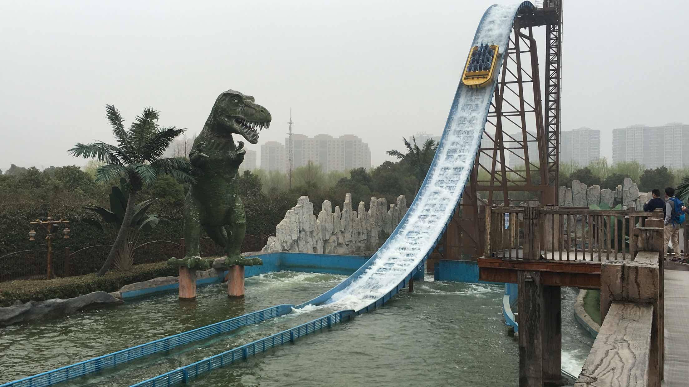 常州恐龙园 常州恐龙园 恐龙谷温泉 成人联票 常州恐龙园恐龙园的过