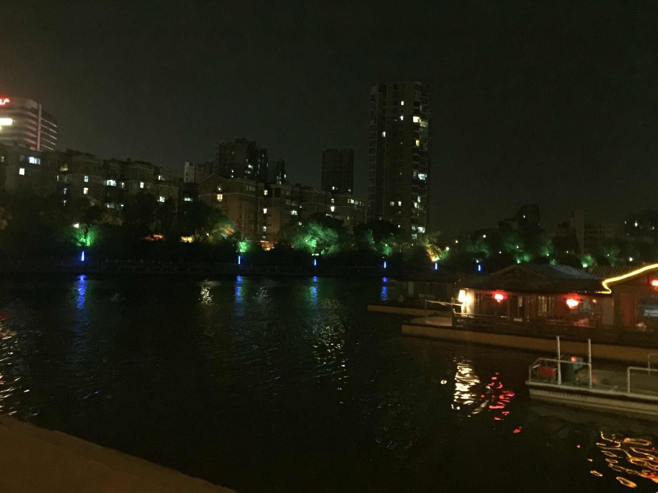 南京石头城秦淮河画舫 外秦淮游船
