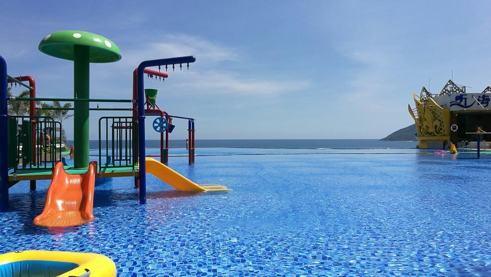 三亚哈曼度假酒店   (豪华山海房)豪华海湾房图片