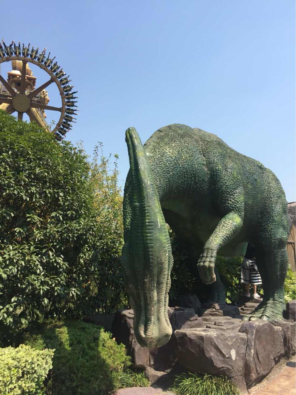 常州恐龙园 常州恐龙园 恐龙谷温泉 成人票 G20峰会浙江市民专享 常州