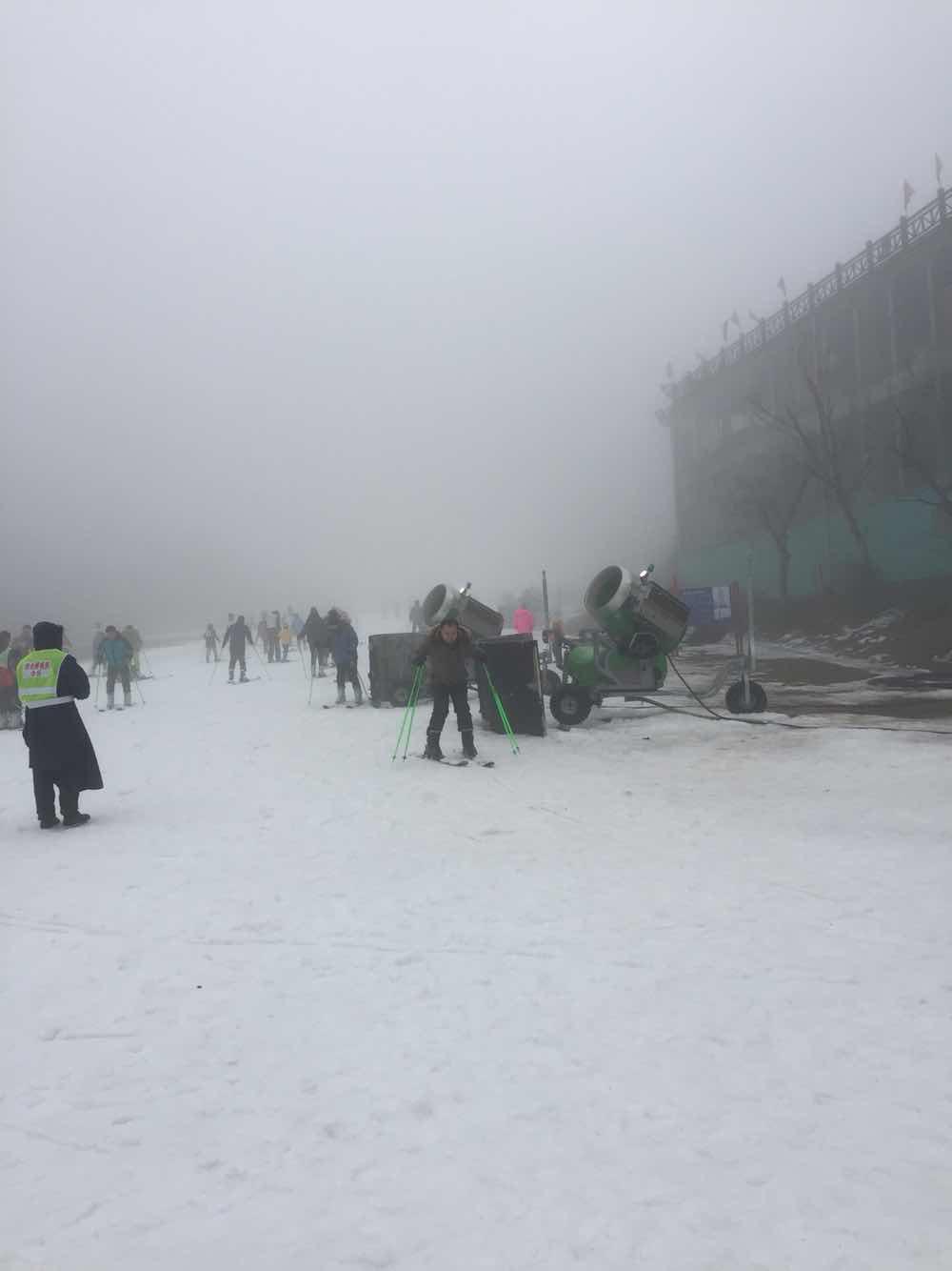 享江南天池滑雪,观江南天池景区,住安吉君澜度假酒店 双早 赠送安图片