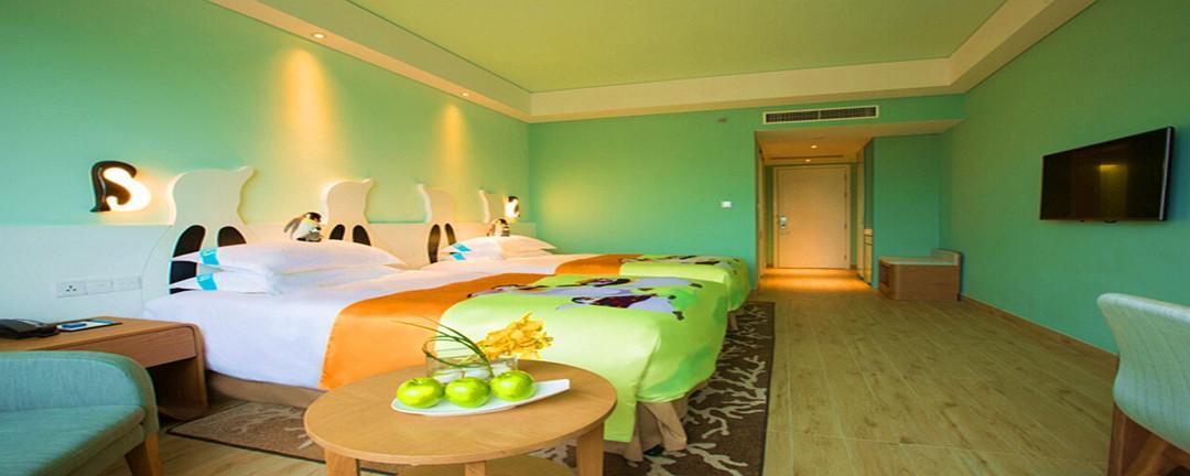 【珠海长隆3天2晚3人畅玩自由行】住2晚企鹅酒店 海洋王国 横琴岛剧院