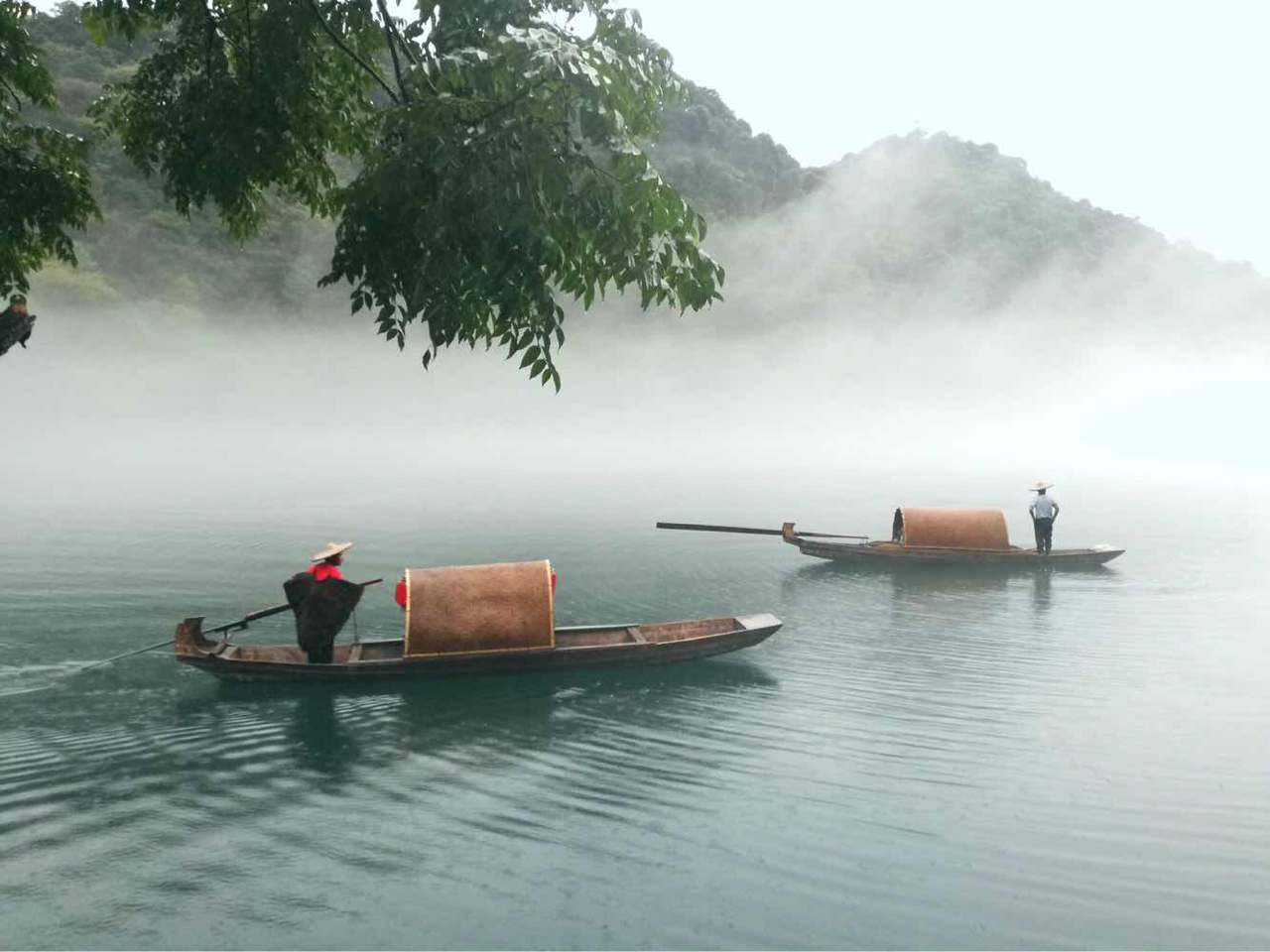 东江湖风景旅游区东江湖风景旅游区两天一夜的旅行顺利结束,非常满 图片