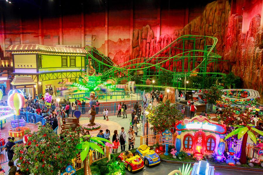 水乐园/万达电影乐园/森林野生动物园/西海岸生态观光园(景点6选1)